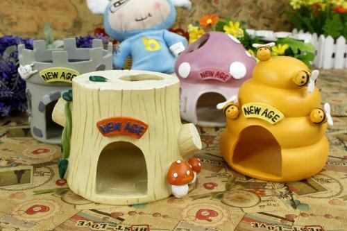 Ceramic Hamster Hideouts